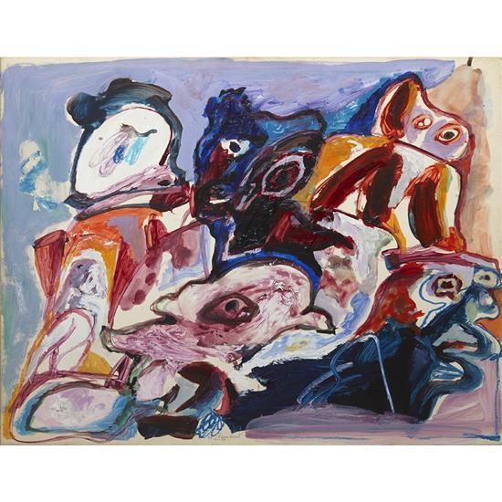Lucebert (1924-1994)Figures, 1975