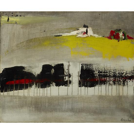 François Arnal (1924-2012)Des monstres sortent de toi, 1960