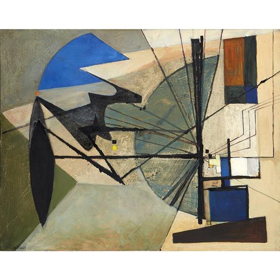 Huguette Arthur Bertrand (1922-2005)Sans titre, 1950