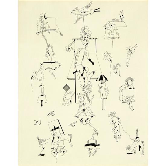 Jorge Camacho (1934-2011)Figures ou L''Envol surréaliste, 1973