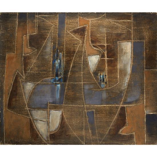Roger Chastel (1897-1981)Le Bistro XV, circa 1955