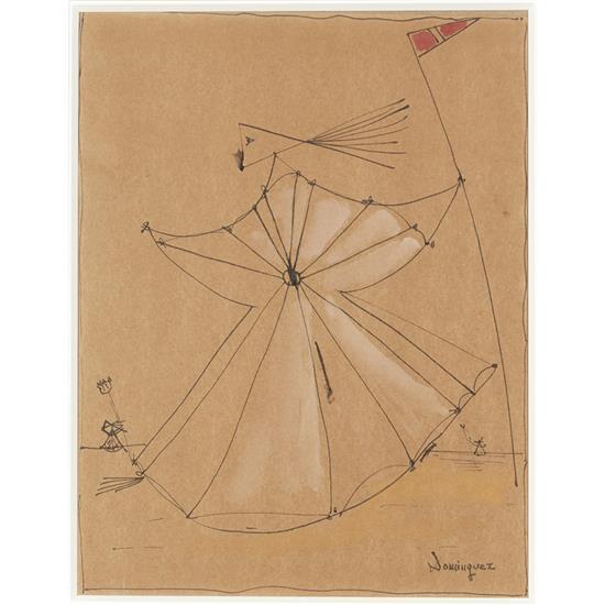 Oscar Dominguez (1906-1957)Composition