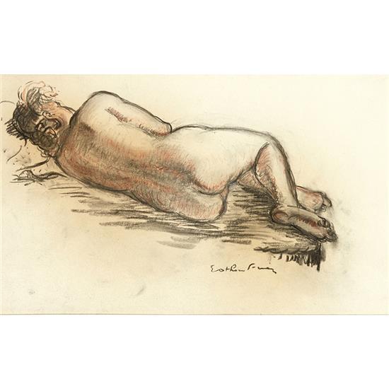 Othon Friesz (1879-1949)Nu couché de dos