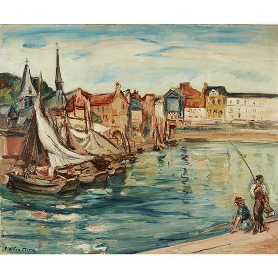 Othon Friesz (1879-1949)Bateaux, 1937