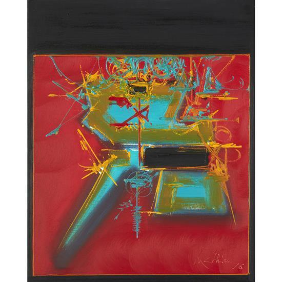 Georges Mathieu (1921-2012)Larissa, 1976