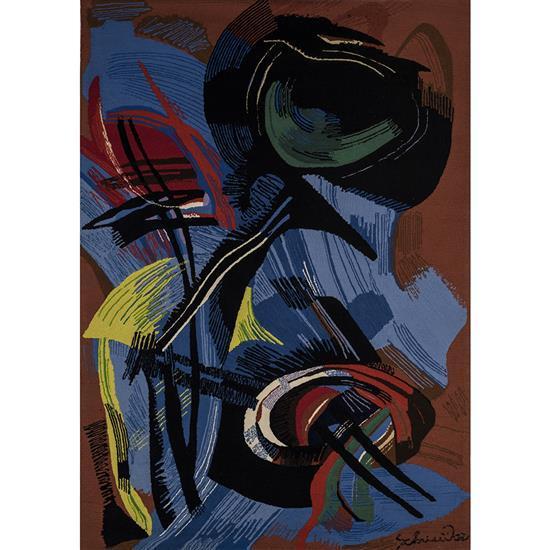 Gérard Schneider (1896-1986)Composition, 1985