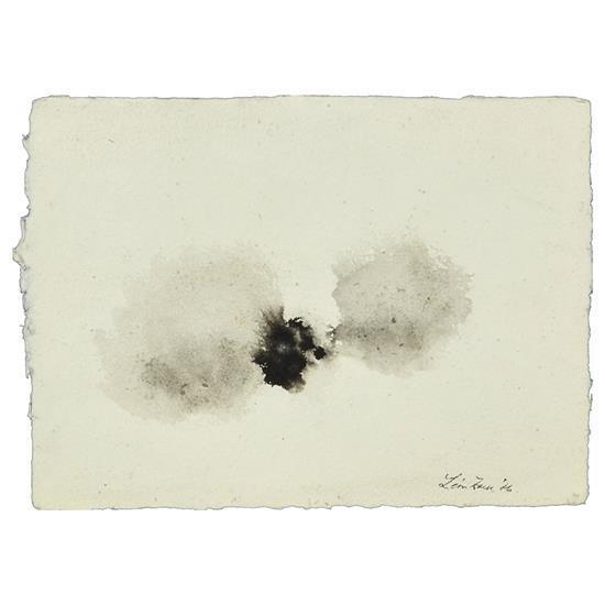 Léon Zack (1892-1980)Composition en noir, 1976