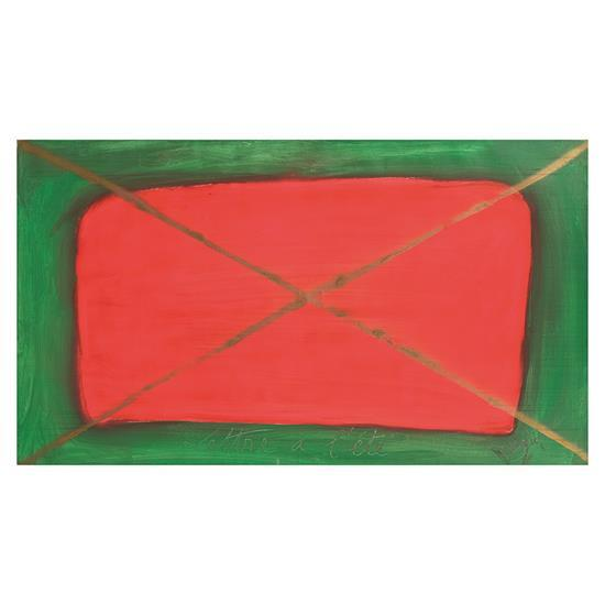 Jean Messagier (1920-1999)Lettre à l''été, 1975