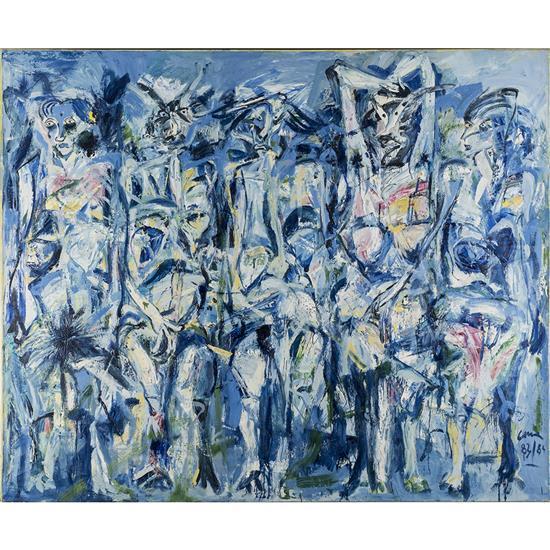 Louis Cane (né en 1943)Les femmes de l''Arc, 1983