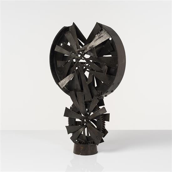 Pierre PAPALOÏZOS (1927- 1978) Grand soleil noir, 1972