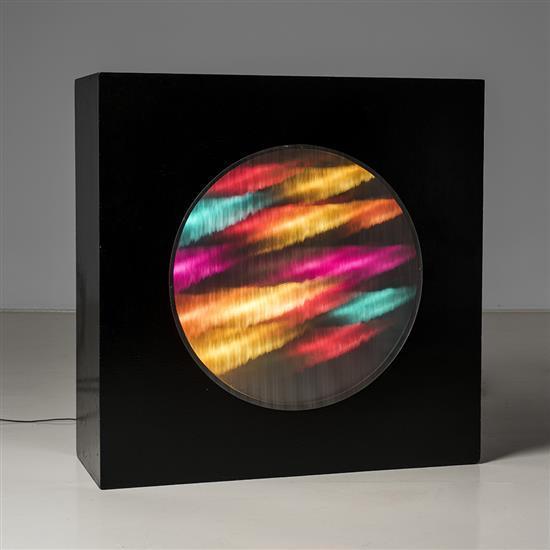 Horacio Garcia Rossi (1929-2012)Structure lumière à couleur changeante, 1965-1966