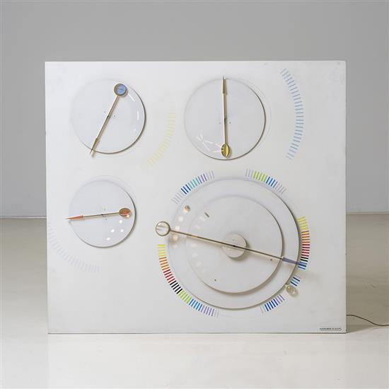 Gregorio Vardanega (1923-2007)Contrepoint chronographique, 2000