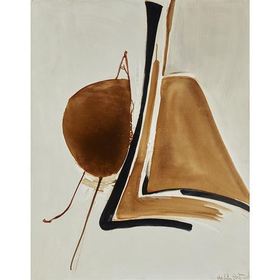 Huguette Arthur Bertrand (1922-2005)Une moitié pour une autre, 1974