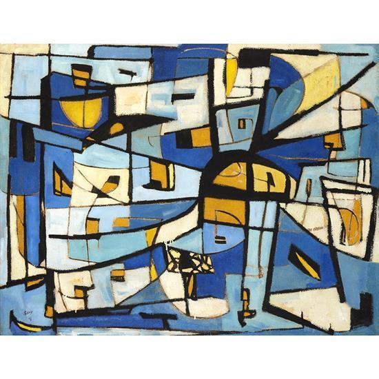 Pol Bury (1922-2005)Composition, 1948