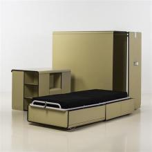 Studio Architetti Hybsch (fondé en 1957)Prototype de chambre à coucher 24 heures, 1971