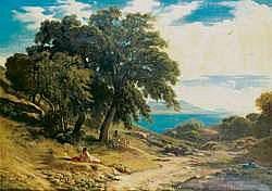 Paul FLANDRIN (Lyon 1811 - Paris 1902) - Les