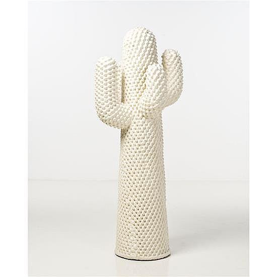 Guido Drocco (né en 1942) & Franco Mello (né en 1945) Cactus Porte manteau Polyuréthane expansé Édition Gufram Édition limitée à 250...