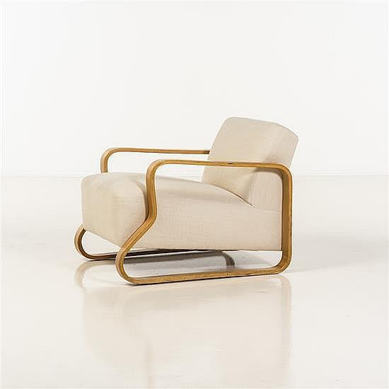 alvar aalto 1898 1976 fauteuil. Black Bedroom Furniture Sets. Home Design Ideas