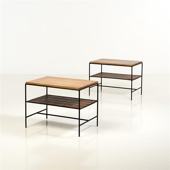Paul mccobb 1917 1969 paire de tables basses - Tables basses soldes ...