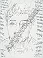 Art Abstrait et Contemporain:, Elke Krystufek, Click for value