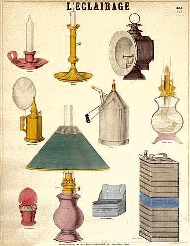 Émile Deyrolle éd. L'Éclairage. Vers 1880-1890