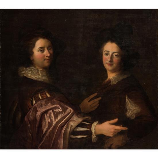 alexis grimou argenteuil 1678 paris 1733 portraits de d. Black Bedroom Furniture Sets. Home Design Ideas