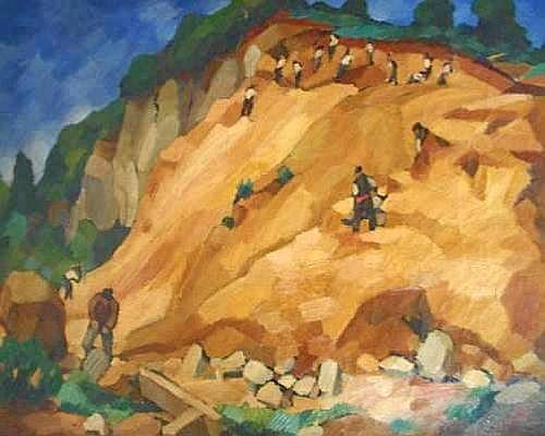 ROCHE Marcel (1890 - 1959) - Les carriers