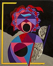 Jorge P. CASTAÑO (1932-2009) Le cri - el grito, 1990-1991
