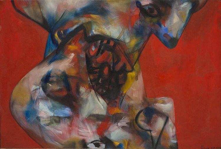 Servando CABRERA MORENO (1923-1981) Beso 8, 1966