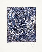Rafael CACERES (né en 1956)Sans titre, circa 1998 Ensemble de 4 gravures en couleurs, chacune signée