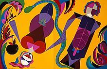 Jorge P. CASTAÑO (1932-2009) Paraiso, 1982