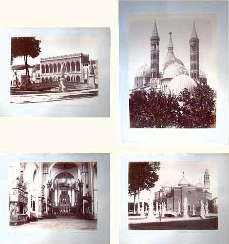 Photographs:  Carlo NAYA (1816-1882) - PADOUE :