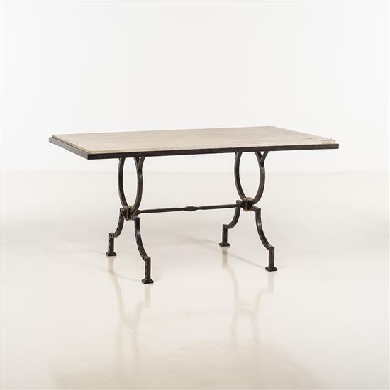 Gilbert Poillerat (1902-1988)Table de milieu