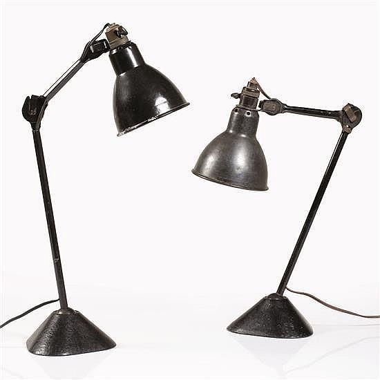 Bernard-Albin Gras (1886-1943)Paire de lampes