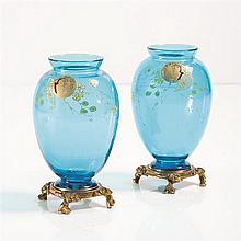 Maison BaccaratPaire de vases japonisant