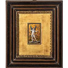Paul Grandhomme (1851-1944)Plaque décorative