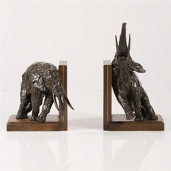 Ary Jean Léon Bitter (1883-1973)« Eléphants »