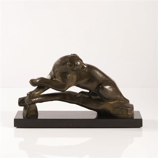 Maurice Prost (1894-1967)« Panthère au repos »