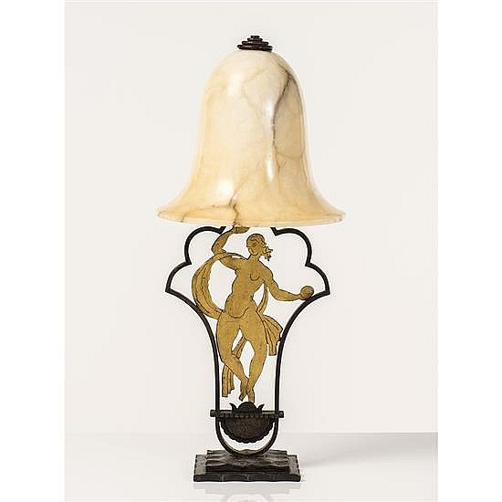 Edgar Brandt (1880-1960)Lampe