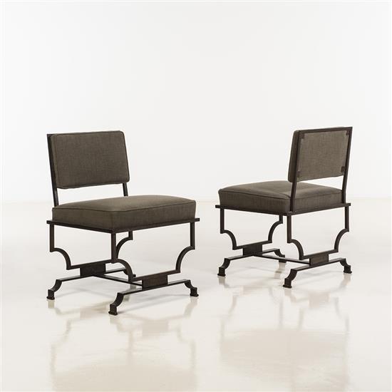 Jacques Quinet (1918-1992)Paire de fauteuils