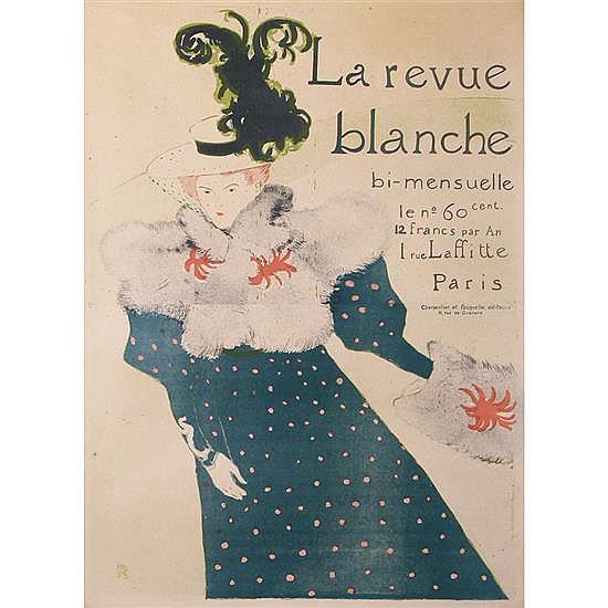 Henri de Toulouse-Lautrec (1864-1901)«La Revue Blanche»