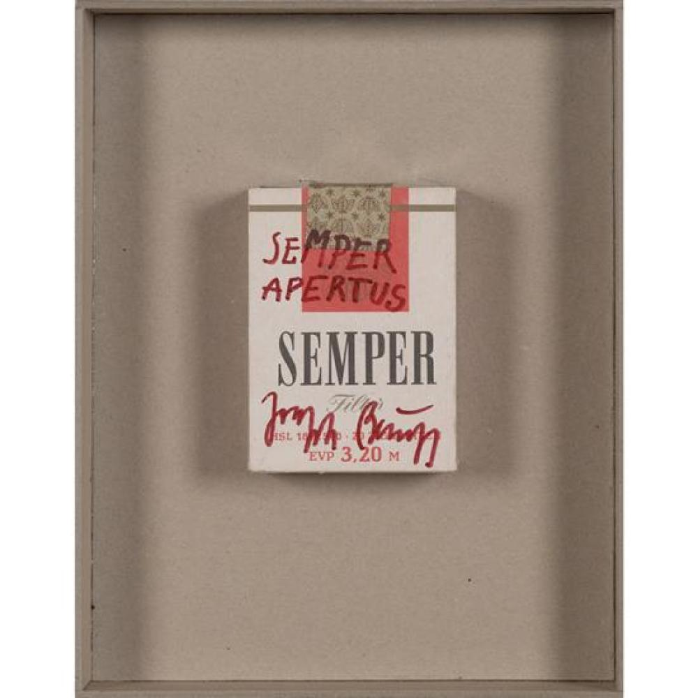 Joseph Beuys (1921-1986) Semper Apertus, circa 1977-84