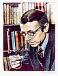 Gisèle FREUND (1908-2000) - Jean-Paul Sartre,, Gisele Freund, Click for value
