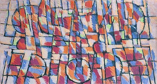 Jean LE MOAL (1909-2007) Midi sur le port, 1955