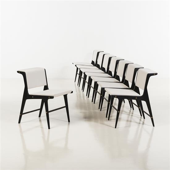 Ezio minottitable ronde et huit chaises - Table ronde et 4 chaises ...