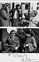 Brian HAMILL  Woody Allen sur un tournage,  années 1980 Tirage argentique d'exploitation regroupant 2 images, Brian Hamill, Click for value