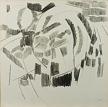 Olivier Debré (1920-1999) Composition, vers 1965