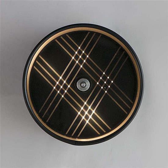 Gruppo MID (créé en 1965) Generatore di linee traccianti, 1967 Six lignes matrix, mouvement manuel, lumière florescente, méthacr...