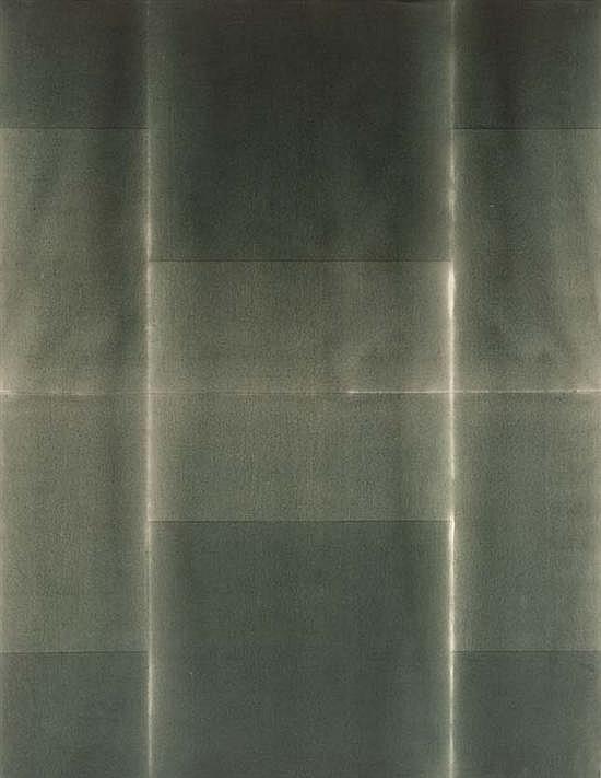 Marc DEVADE (1943-1983) Pissaro, 1977 Acrylique sur toile signée, datée et titrée au dos sur le châssis