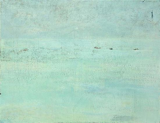 Avni ARBAS (1919-2003) Composition, 1973